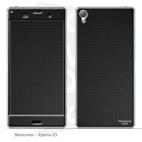 Skincover® Xperia Z3 - Carbon