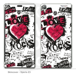 Skincover® Xperia Z3 - Love - Rock