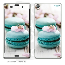 Skincover® Xperia Z3 - Macaron Flowers