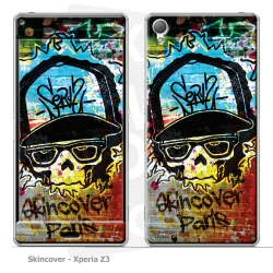 Skincover® Xperia Z3 - Street Colors By Wallaceblood