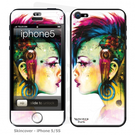 Skincover® iPhone 5/5S - Cyber Punk By P.Murciano