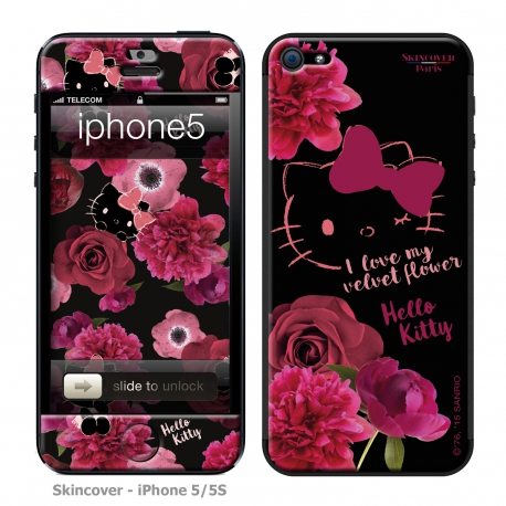 Skincover® iPhone 5/5S - Dark Velvet By Hello Kitty