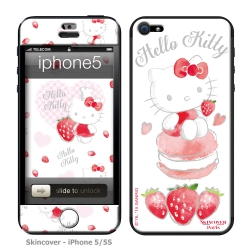 Skincover® iPhone 5/5S - Fraise By Hello Kitty