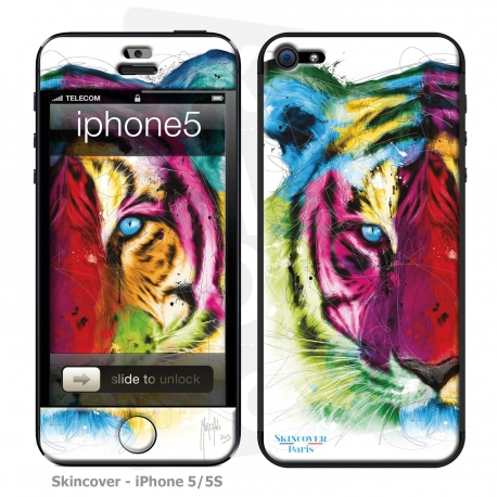 Skincover® iPhone 5/5S - Tiger By P.Murciano
