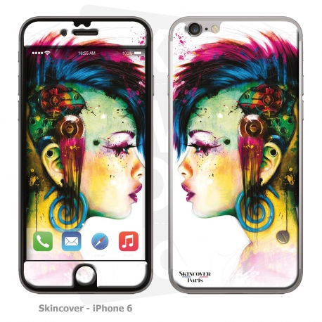 Skincover® iPhone 6/6S - Cyber Punk By P.Murciano