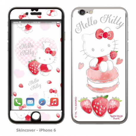 Skincover® iPhone 6/6S - Fraise By Hello Kitty