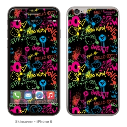 Skincover® iPhone 6/6S - Grafitti By Hello Kitty