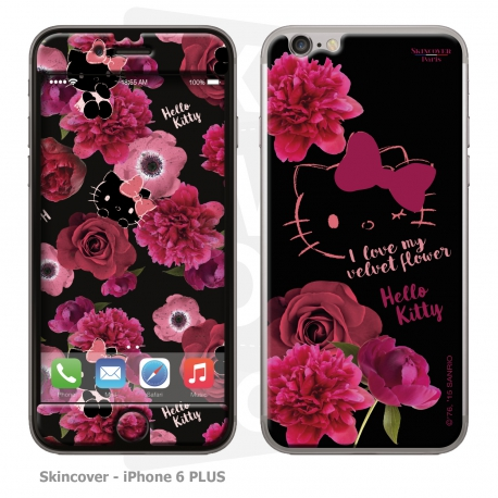 Skincover® iPhone 6/6S PLUS - Dark Velvet By Hello Kitty