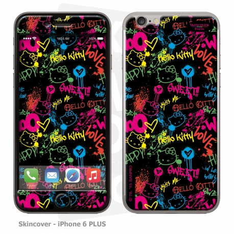 Skincover® iPhone 6/6S PLUS - Grafitti By Hello Kitty