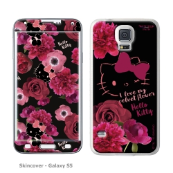 Skincover® Galaxy S5 - Dark Velvet By Hello Kitty