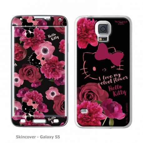 Skincover® Galaxy S5 - Dark Velvet By Hello Kitty