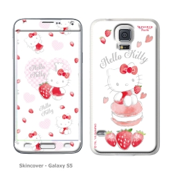 Skincover® Galaxy S5 - Fraise By Hello Kitty