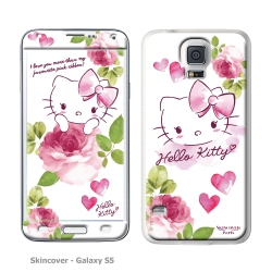 Skincover® Galaxy S5 - Love You By Hello Kitty