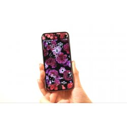 Skincover® iPhone 6/6S - Dark Velvet By Hello Kitty