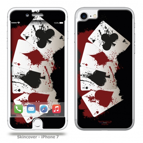 Skincover® iPhone 7 - 4 Aces