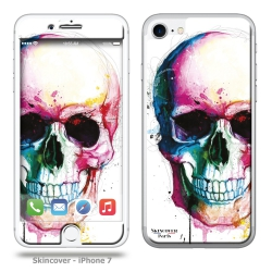 Skincover® iPhone 7 et 8 - Angel Skull By P.Murciano