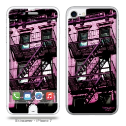 Skincover® iPhone 7 - Appart Pink By Paslier