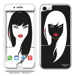 Skincover® iPhone 7 - Black Swan