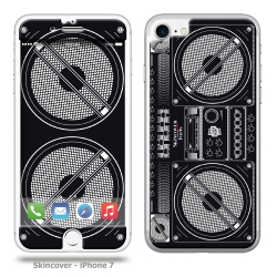Skincover® iPhone 7 et 8 - Ghetto Blaster