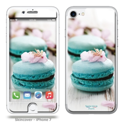 Skincover® iPhone 7 et 8 - Macaron Flowers