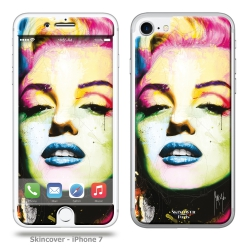 Skincover® iPhone 7 et 8 - Marilyn By P.Murciano