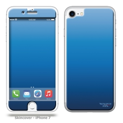 Skincover® iPhone 7 et 8 - Skin Blue