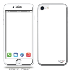 Skincover® iPhone 7 et 8 - Skin White