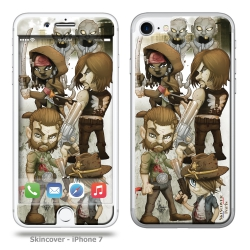 Skincover® iPhone 7 - Walking-D By Vinz El Tabanas