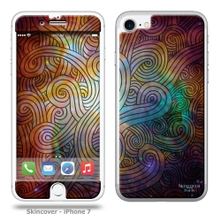 Skincover® iPhone 7 - Wave Colors