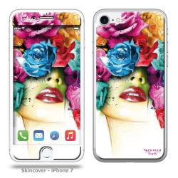 sticker et skins iPhone 7 et 8 - Rose By P.Murciano