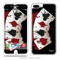 Skincover® iPhone 7 et 8 Plus - 4 Aces