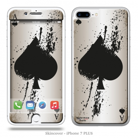 Skincover® iPhone 7 Plus - Ace Of Spade