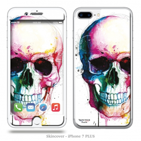 Skincover® iPhone 7 Plus - Angel Skull By P.Murciano