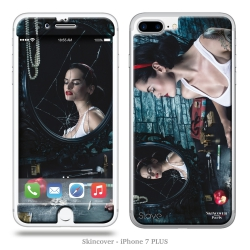 Skincover® iPhone 7 Plus - Blanche By Slave