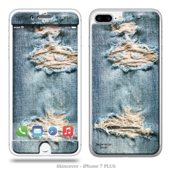 Skincover® iPhone 7 Plus - Bluejeans