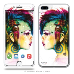 Skincover® iPhone 7 et 8 Plus - Cyber Punk By P.Murciano