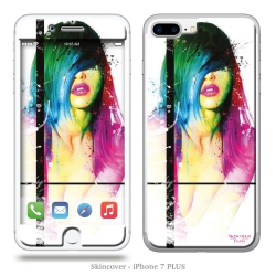Skincover® iPhone 7 et 8 Plus - Fashion Laura By P.Murciano