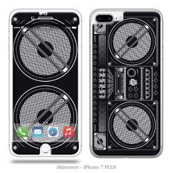 Skincover® iPhone 7 et 8 Plus - Ghetto Blaster