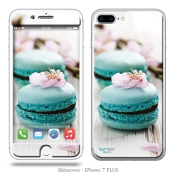 Skincover® iPhone 7 Plus - Macaron Flowers