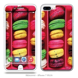 Skincover® iPhone 7 et 8 Plus - Macarons