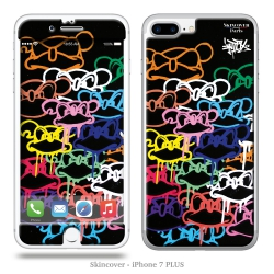 Skincover® iPhone 7 et 8 Plus - Mad Invasion By Intox