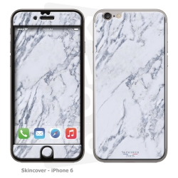 Skincover® iPhone 6/6S - Marbre 1 Gris