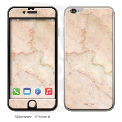 Skincover® iPhone 6/6S - Marbre 2 Rose