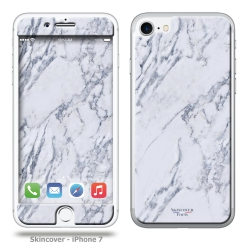 Skincover® iPhone 7 - Marbre 1 Gris