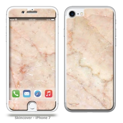 Skincover® iPhone 7 et 8 - Marbre 2 Rose