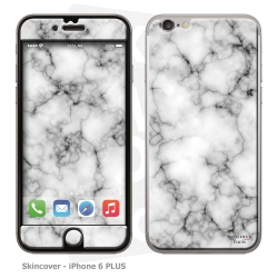 Skincover® iPhone 6/6S Plus - Marbre 3 Gris