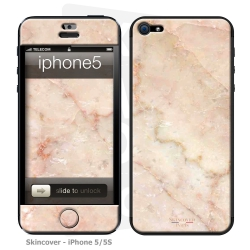 Skincover® iPhone 5 / 5S / 5SE - Marbre 2 Rose