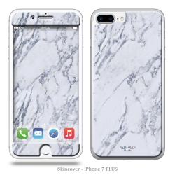Skincover® iPhone 7 Plus - Marbre 1 Gris
