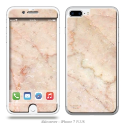 Skincover® iPhone 7 et 8 Plus - Marbre 2 Rose