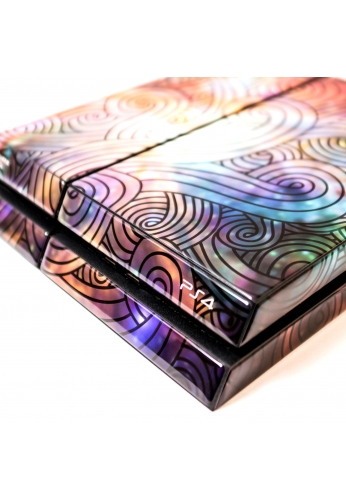 Skincover® Sony Playstation 4 - PS4 - Wave Colors